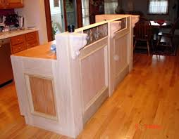 how to build a kitchen island with breakfast bar how to build a