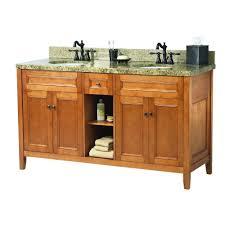 foremost naples 61 in w x 22 in d bath vanity in warm cinnamon