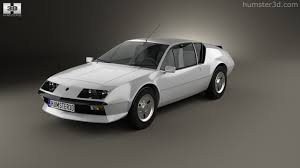 renault alpine a610 360 view of renault alpine a310 1976 3d model hum3d store