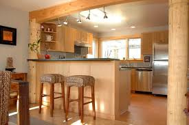 contemporary kitchen with breakfast bar by leroy boren zillow