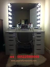 Cermin Led meja rias cermin dengan lu led atau meja makeup salon lu harga