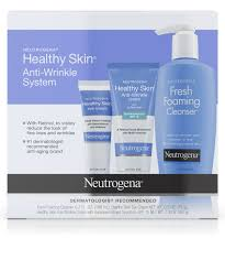 healthy skin anti wrinkle skin care system neutrogena