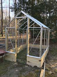 Inside Greenhouse Ideas by Building And Improving The Harbor Freight 6x8 Greenhouse 11 Steps