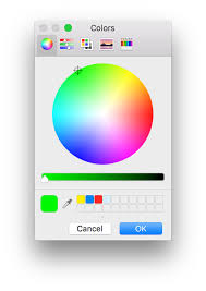 mac automation scripting guide prompting for a color