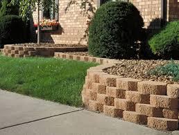 cheap garden wall blocks