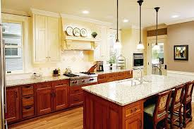 Cream Colored Kitchen Cabinets Kitchens With Different Color Upper And Lower Cabinets Google