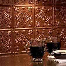 copper backsplash tiles for kitchen kitchen room wonderful antique copper tiles backsplash brushed
