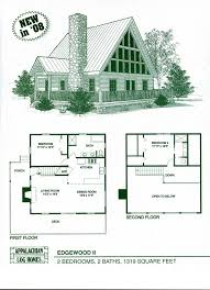 simple cottage home plans floor plan chalet house basement one large story affordable open
