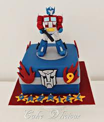 transformer cakes optimus prime transformer cake transformers