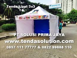 Tenda Lipat Ukuran 3x3 harga tenda promosi harga tenda murah tendasolution