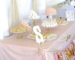 babyshower decorations pink and gold baby shower sincerely jean
