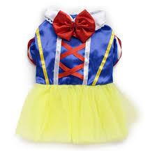 amazon com pet dog snow white disney halloween dress costume
