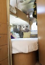 Airstream Custom Interiors Tour Our Airstream Kids Bunks Back Bedroom Area Flying Cloud