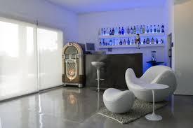 modern white contemporary home bar design home design