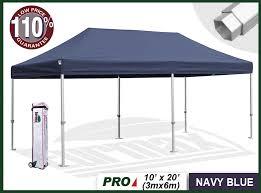 Instant Shade Awning Eurmax Pro 10x20 Pop Up Tent Eurmax Com