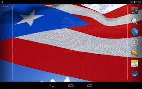 Flag Com 3d Puerto Rico Flag Android Apps On Google Play