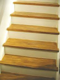 diy make your painted staircase look like real wood again hometalk