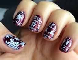 15 ugly christmas sweater nail art designs ideas u0026 stickers 2015