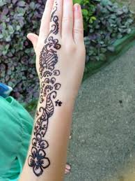 kis loved their henna tattoos picture of fiji hideaway resort