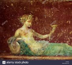painting at pompeii wall paintings in ancient rome decorated the