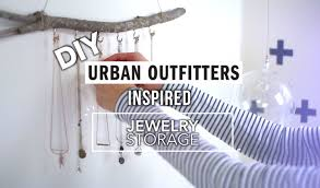 Home Decor Stores Like Urban Outfitters Diy Urban Outfitters Jewelry Storage Youtube