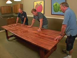Build A Wooden Table Top by How To Build A Dinner Table How Tos Diy