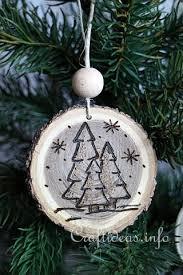 wood burned ornaments 4 новый год