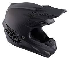 2018 Troy Lee Designs Se4 Midnight Black Carbon Motocross Helmet
