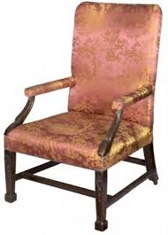 carved mahogany chippendale style chair hollywood thing