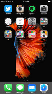 post your iphone 6s 6s plus home screen macrumors forums
