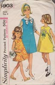 butterick 2759 girls beach jumper dress blouse pants vintage