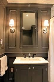 Gray Bathroom Paint 25 Decor Ideas That Make Small Bathrooms Feel Bigger Makeup
