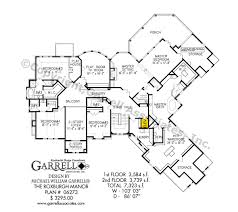 manor house floor plan