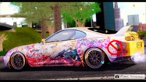 supra 2015 skayya artwoks graphic moeifications u0026 itasha garage toyota