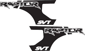 ford raptor logo product ford f 150 raptor svt bed decals graphics stickers chatter