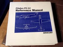 simcom pilatus pc 12 reference manual u2022 250 24 picclick