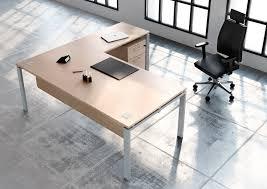 bureau de direction avec retour bureau de direction avec retour voile de fond en bois structure