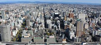 Satellite View Map Google Map Of The City Of Nagoya Japan Nations Online Project