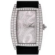 piaget limelight piaget white gold diamond limelight quartz wristwatch ref