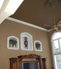 consider painting your ceiling a shade darker than the walls of
