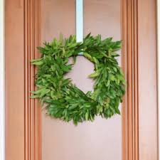 bay leaf wreath bay leaf wreath door wreath winter wreaths housewarming gift