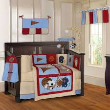Baby Boy Sports Crib Bedding Sets Decorations Newest Bills Bedding For Bedroom Decorations Nfl