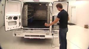 cargo van with crane lift youtube