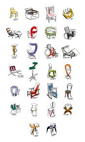 iconic chairs of 20th century chair designers alphabet on behance