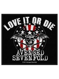 Avenged Sevenfold Flag Pins U0026 Patches U2013 Loudshop Com