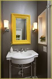 love this color scheme mirror lights for the bathroom it would
