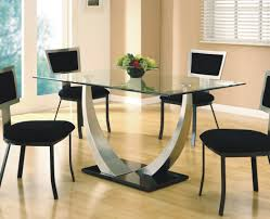 table modern round pedestal dining table awesome glass and