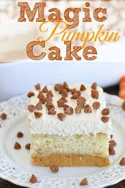 pumpkin layer cake a k a magic pumpkin cake the country cook