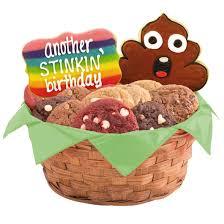 cookie basket emoji gift birthday cookie basket cookies by design