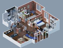 large apartment floor plans apartment designs shown with rendered 3d floor plans smiuchin